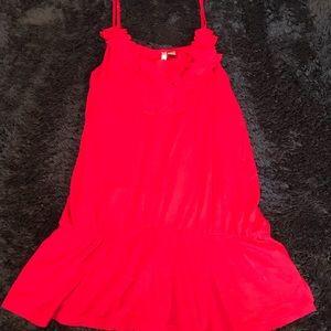 Lauren Conrad Size L Red Spaghetti Strap Top